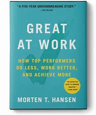 how to be great at work